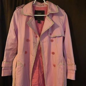 Authentic Coach Trench Coat $45